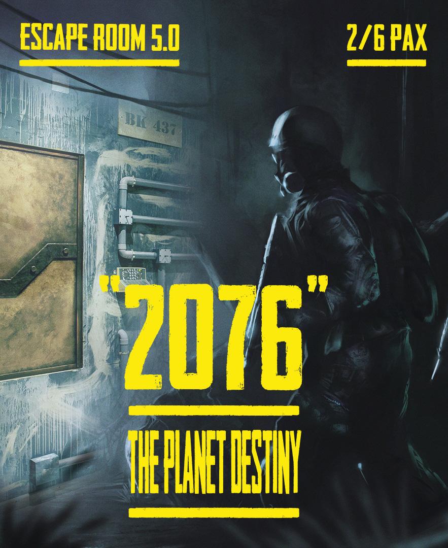 escape room 2076: The Planet Destiny