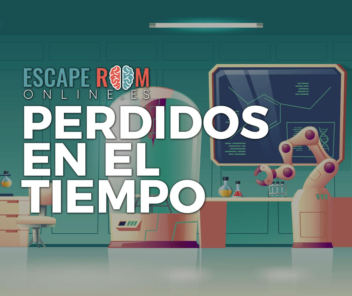 escape room Perdidos en el tiempo