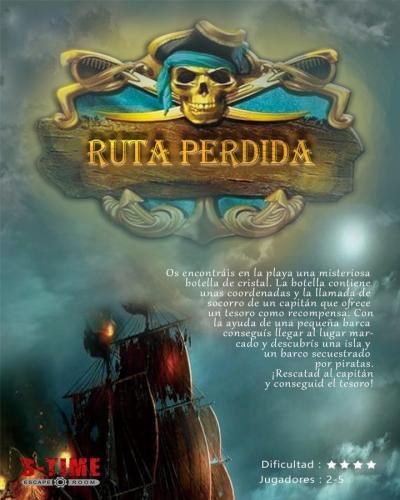 escape room La Ruta Perdida