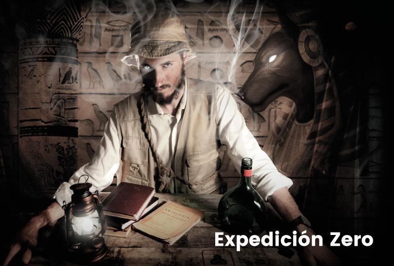 escape room Expedición Zero