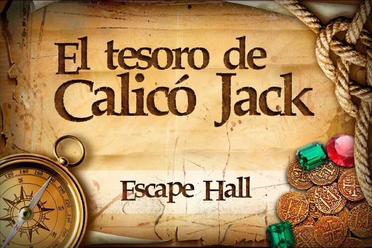 escape room El Tesoro de Calicó Jack