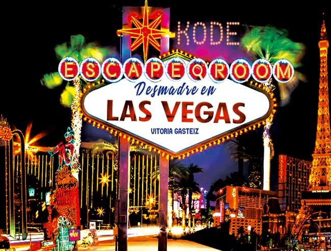 escape room Desmadre en Las Vegas