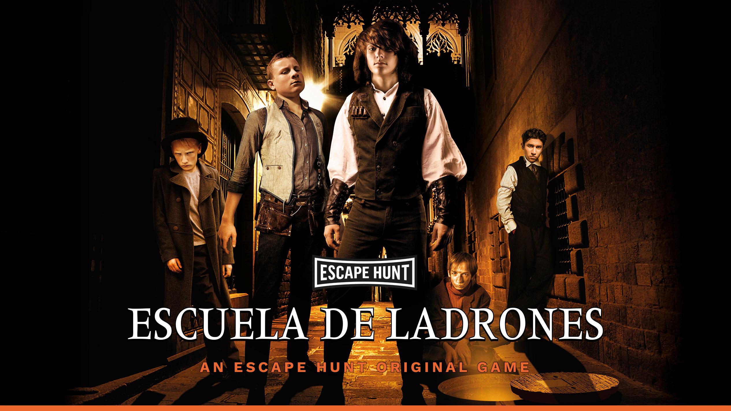 escape room Escuela de Ladrones