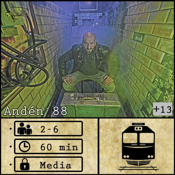 escape room Andén 88
