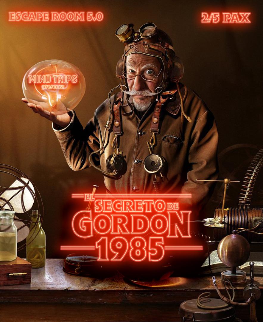 escape room El Secreto de Gordon 1985