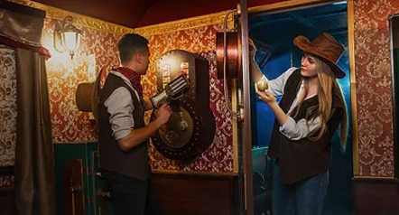 escape room Wild West Train