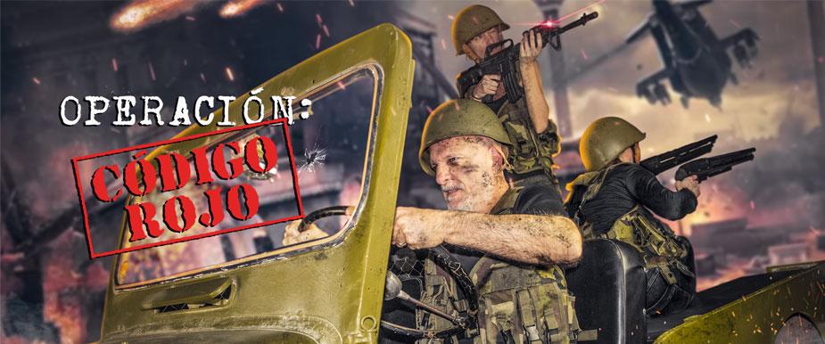 escape room Operación: Código Rojo