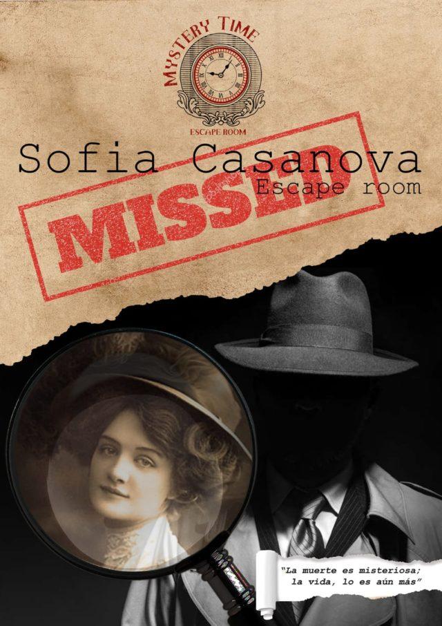 escape room La Desaparición de Sofía Casanova
