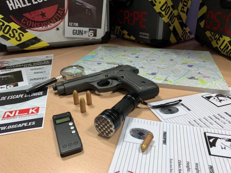 escape room Gun Nº6