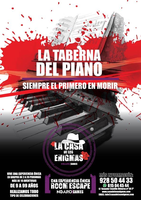 escape room La Taberna del Piano