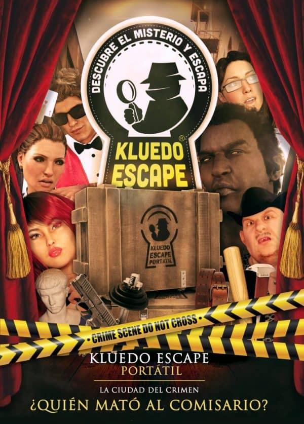 escape room ¿Quién mató al comisario?