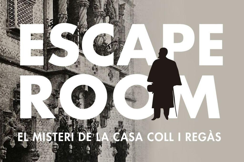 escape room El Misterio de la Casa Coll i Regàs