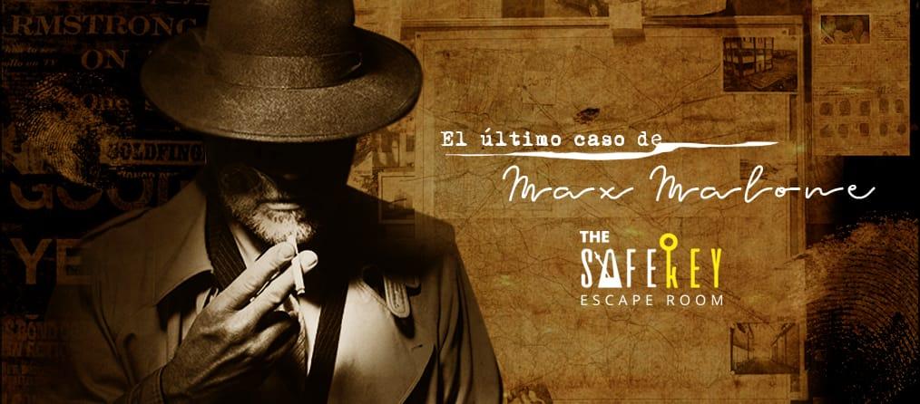 escape room El Último Caso de Max Malone