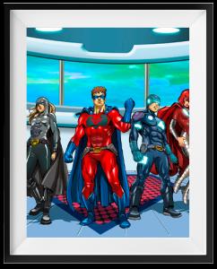 escape room Superheroes