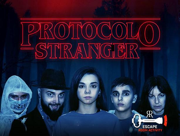escape room Protocolo Stranger