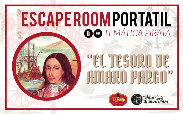 escape room El Tesoro de Amaro Pargo
