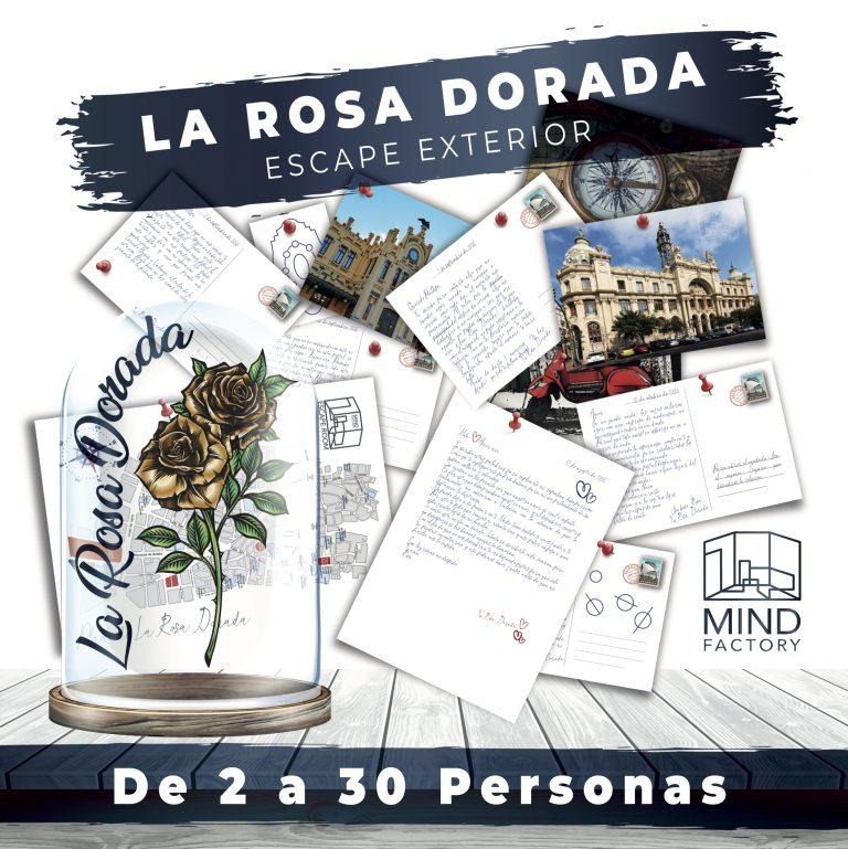 escape room La Rosa Dorada