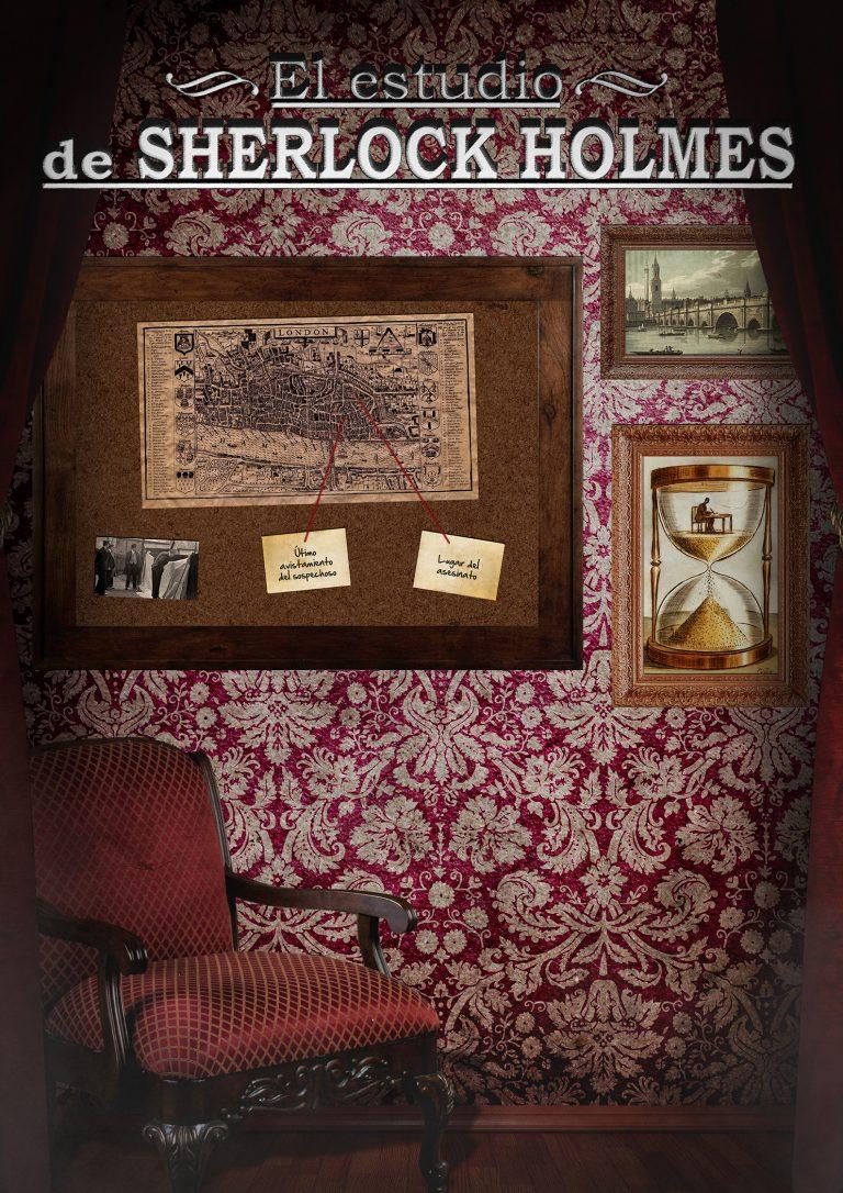 escape room El Estudio de Sherlock Holmes