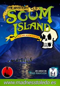 escape room The Mystery of Scum Island
