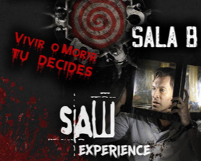escape room Saw Experience