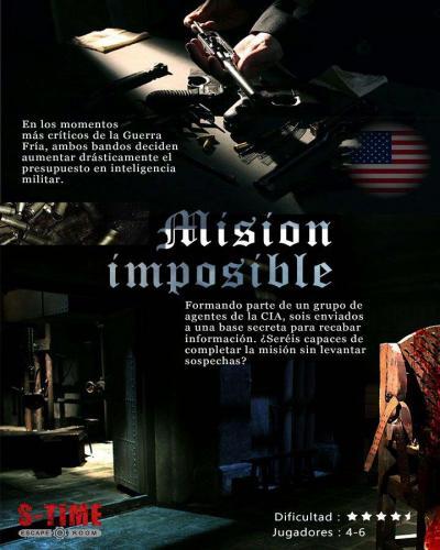 escape room Misión Imposible
