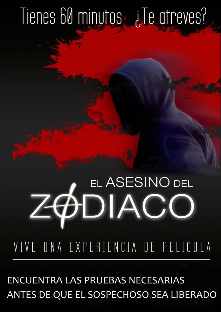 escape room El Asesino del Zodiaco