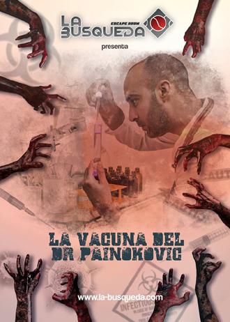 escape room La Vacuna del Dr. Painokovic