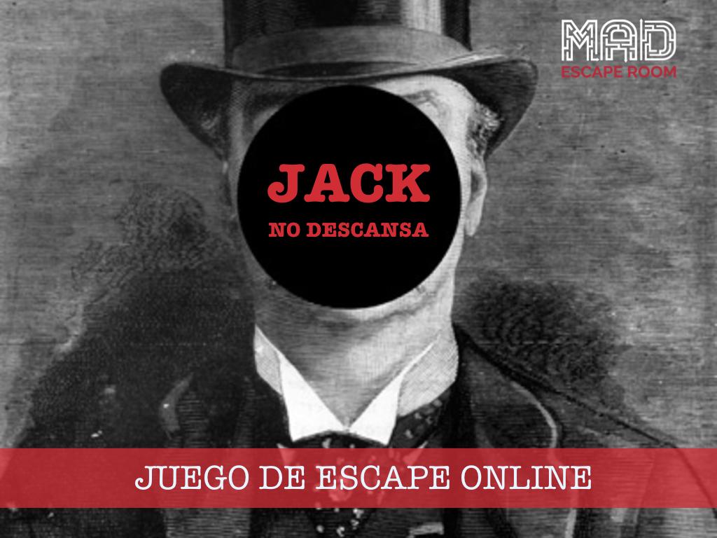 escape room Jack no descansa (escape room online)