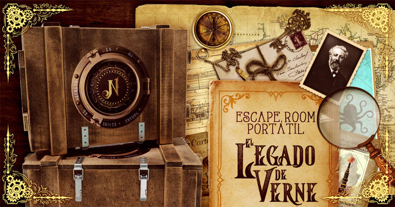 escape room El Legado de Verne