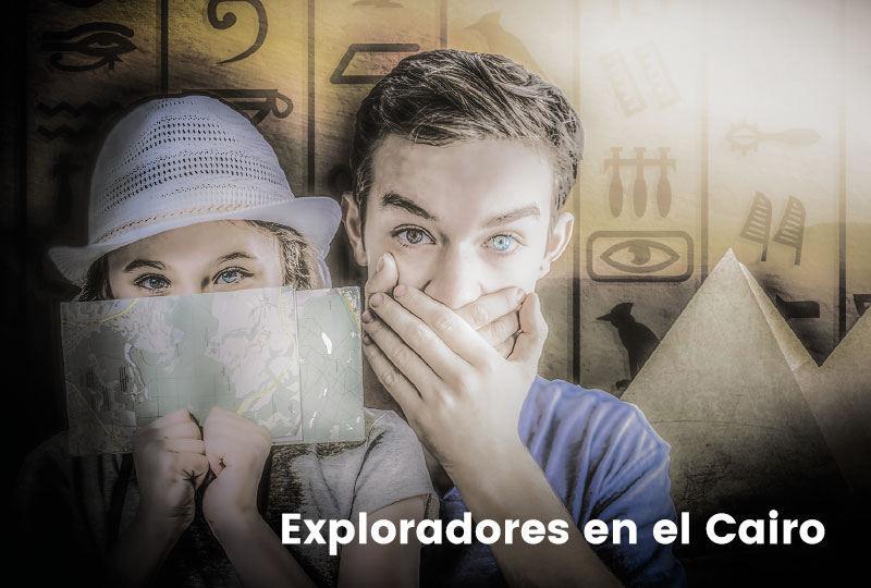 escape room Exploradores en el Cairo