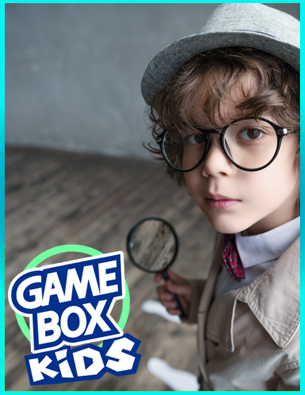 escape room Game Box Kids