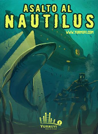 escape room Asalto al Nautilus