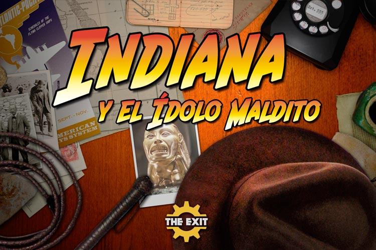 escape room Indiana y el Ídolo Maldito