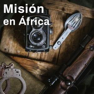 escape room Misión en África