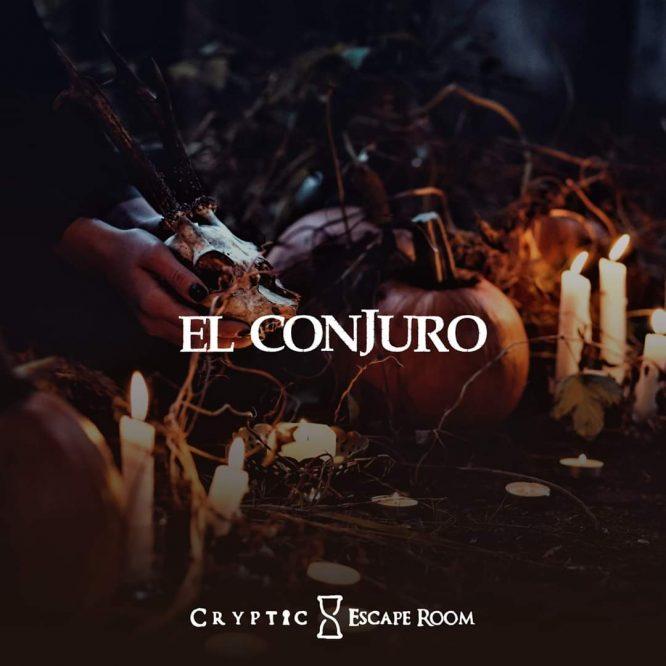 escape room El Conjuro