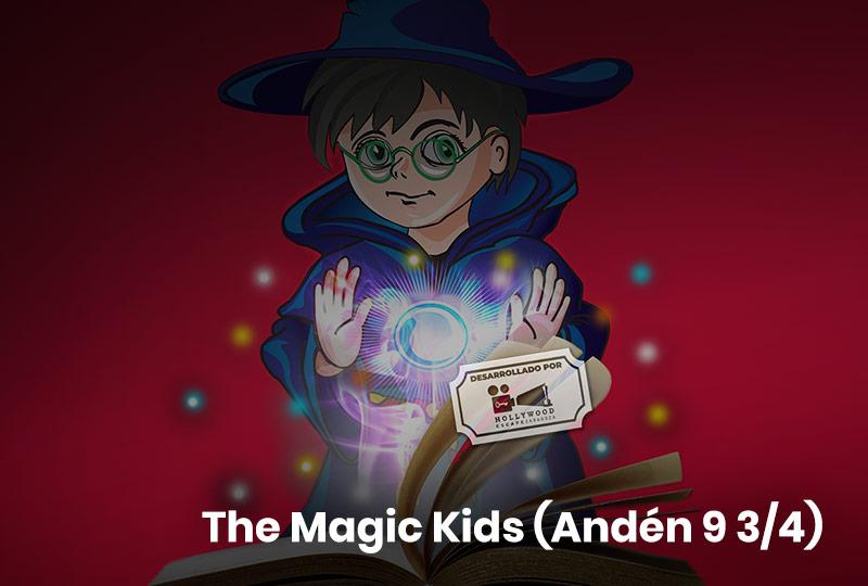 escape room The Magic Andén 9 ¾ - Kids