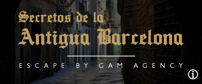 escape room Secretos de la Antigua Barcelona