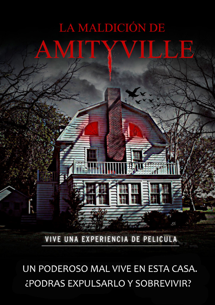 escape room La Maldición de Amityville